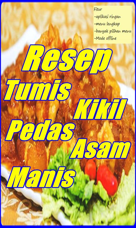 Resep Tumis Kikil Pedas Asam Manis Terlengkap安卓下载 安卓版apk 免费下载