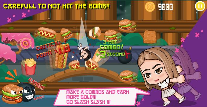 Violeta Hates the Junkfoods apk screenshot
