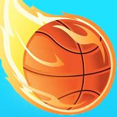 Dunk Jordan Hoop : Best Free Basketball Game icon
