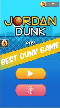 Dunk Jordan Hoop : Best Free Basketball Game poster