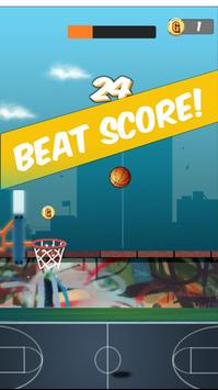 Dunk Jordan Hoop : Best Free Basketball Game screenshot 3