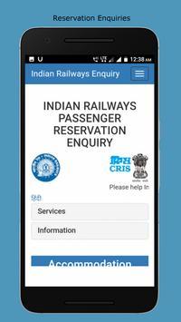 Indian Railways Inquiries (Live status and more) screenshot 4