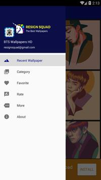 BTS Wallpapers HD poster
