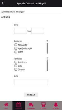 Agenda Cultural de l'Urgell apk screenshot