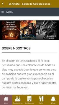 El Artista Salón Celebraciones poster