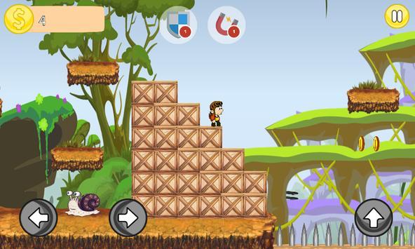 Dan Man Jungle Adventure apk screenshot