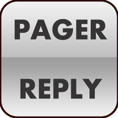 Pager Reply icon