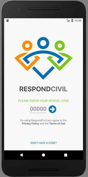 RespondCivil poster