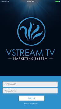 VStream TV Marketing System poster