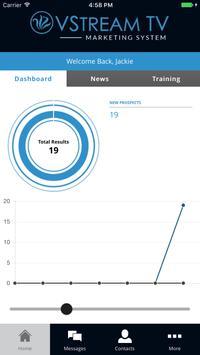VStream TV Marketing System screenshot 1