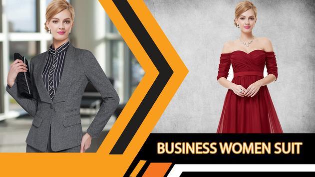 Business Women Suit Photo Editor screenshot 3