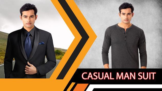 Casual Man Suit Editer screenshot 2