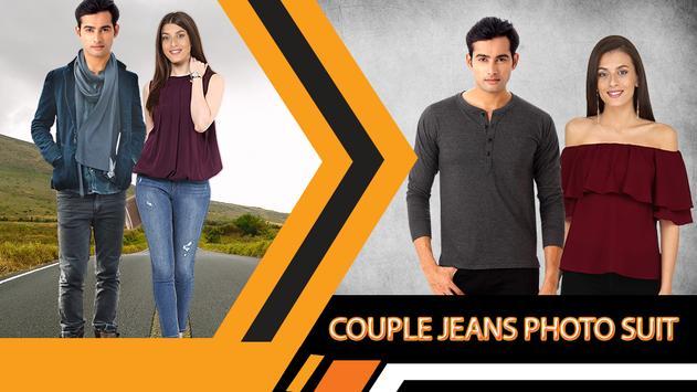 Jeans Couple Photo Suit Editor screenshot 2