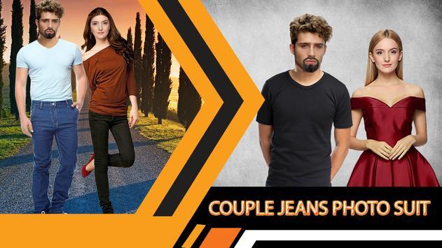 Jeans Couple Photo Suit Editor screenshot 3