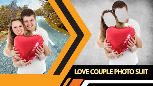 Love Couple Photo Suit Editor poster