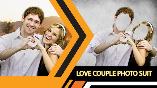 Love Couple Photo Suit Editor screenshot 1