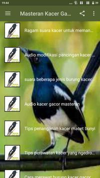Masteran Kacer Gacor screenshot 3