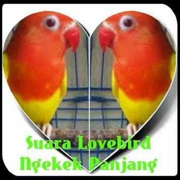 Suara Lovebird Ngekek Panjang poster