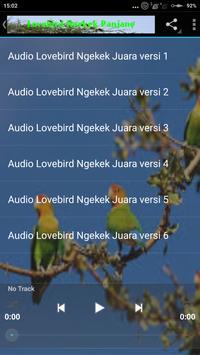 Suara Lovebird Ngekek Panjang apk screenshot