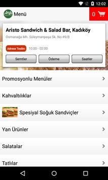 Aristo Sandwich & Salad Bar screenshot 1