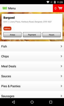 Bargoed Fish Bar screenshot 1