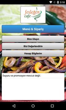 Fesleğen Cafe poster