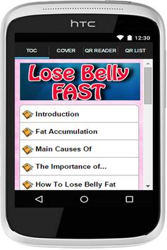 Lose Belly Fast poster