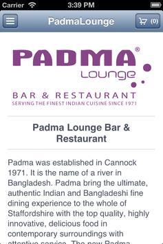 Padma Lounge Bar & Restaurant apk screenshot