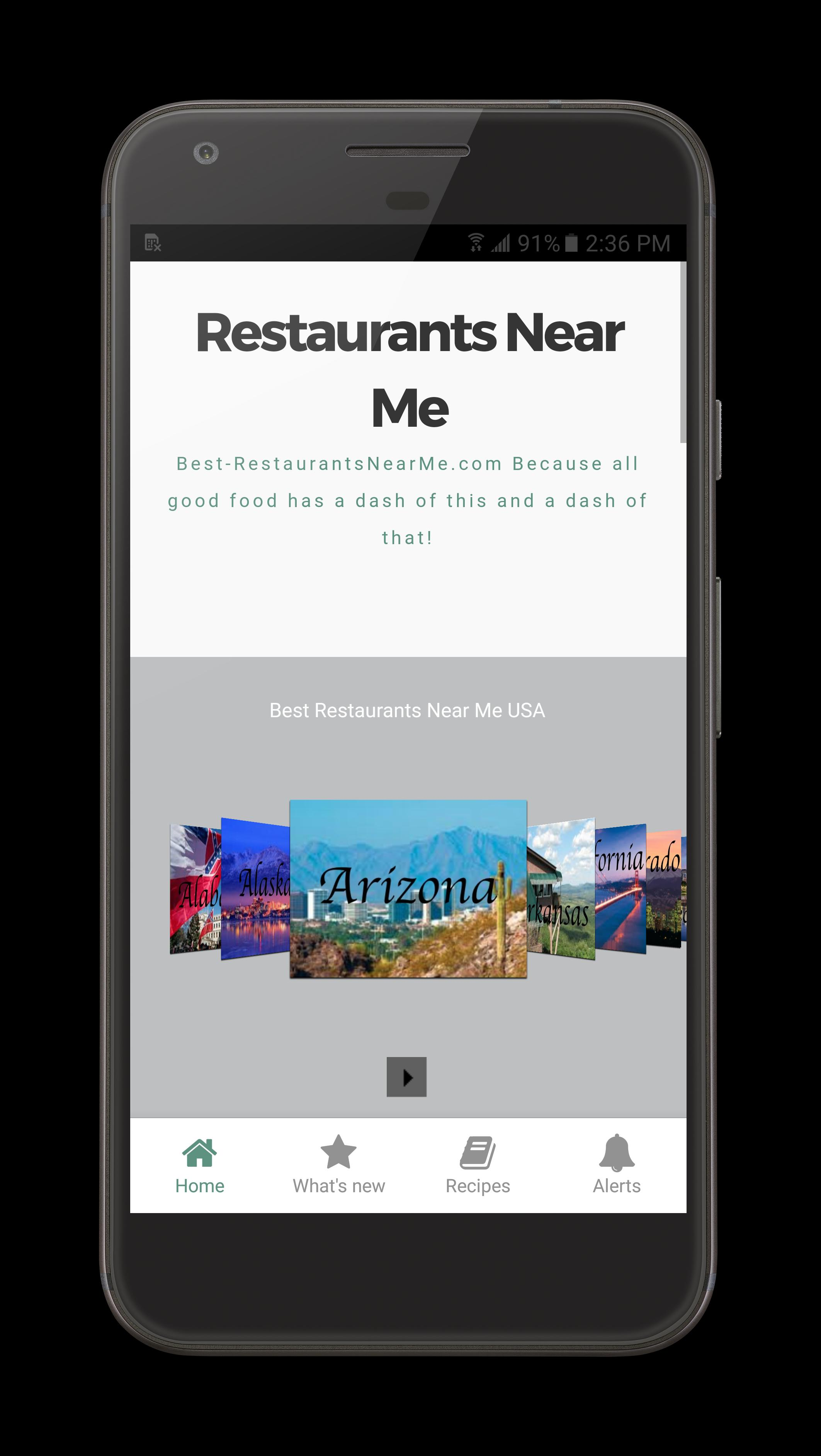 Best Restaurants For Android