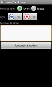 Reste Assis T'es Prévenu apk screenshot
