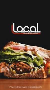 Local Kitchen & Wine Merchant poster