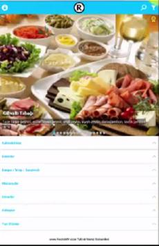 RestoMY Tablet Menü Sistemi screenshot 2