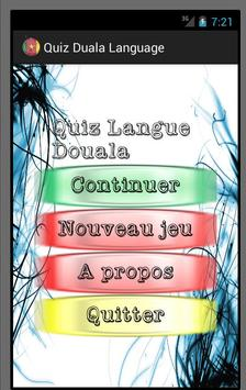 Quiz Duala Language poster