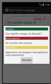 Quiz Duala Language apk screenshot
