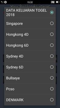 Data Keluaran Togel Full screenshot 2