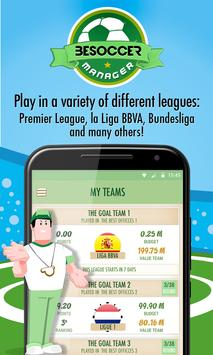 BeSoccer Manager poster