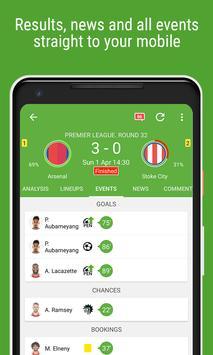 Resultados de Fútbol captura de pantalla 2