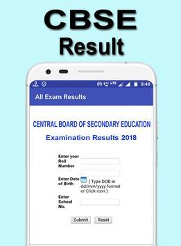CBSE, 10th 12th Board Result 2018 screenshot 3