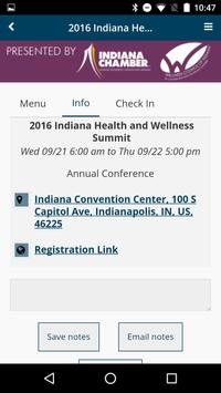 Indiana Chamber Events apk screenshot