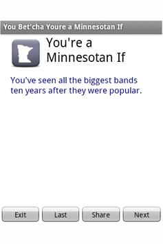 You're a Minnesotan if... poster
