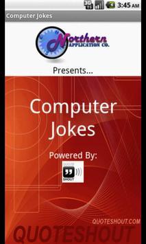 Computer Jokes poster