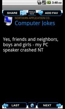 Computer Jokes screenshot 2