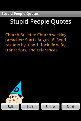 Stupid People Quotes for Android - APK Download
