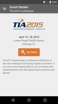 TIA Conference & Exhibition poster