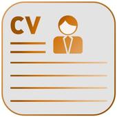 Free resume maker app-cv generator,create resume icon