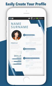 Free Resume Maker:Professional CV Builder JobSeek screenshot 4