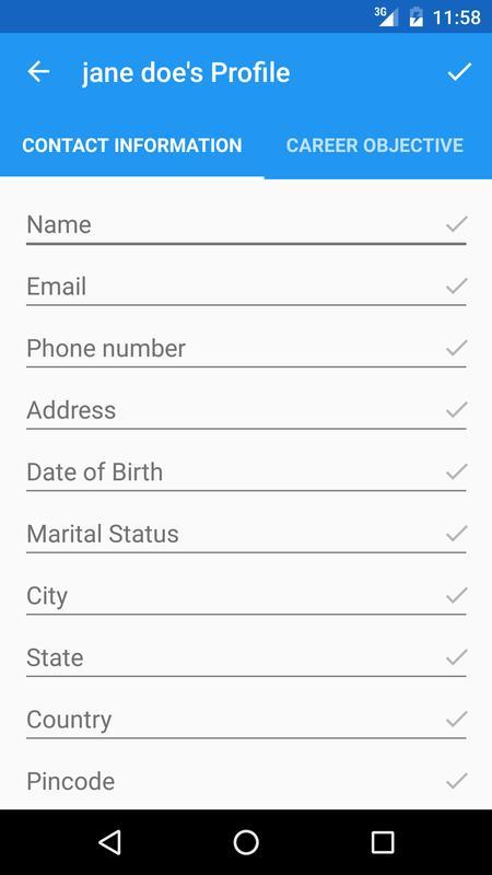 make my resume apk ダウンロード 無料 ビジネス アプリ android 用