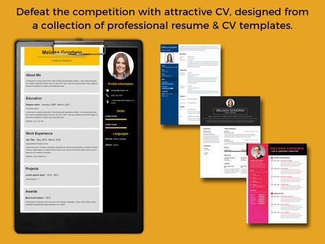 CV Builder,Resume Writer,Resume Design,Create CV for Android - APK ...
