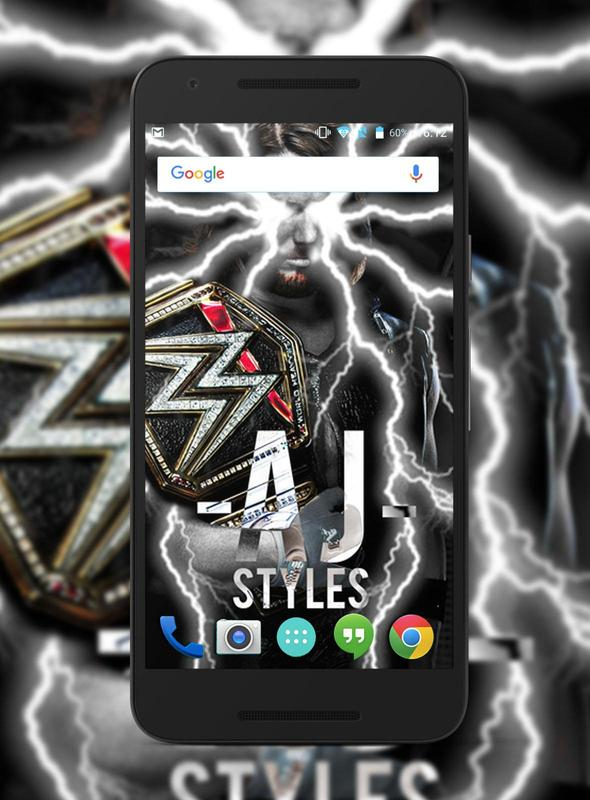 A J Styles Wwe Wallpapers Hd For Android Apk Download