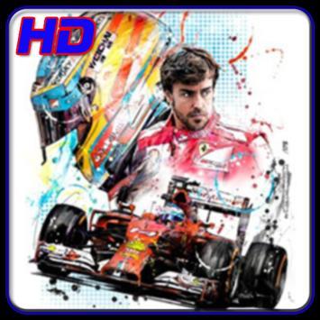 Fernando Alonso Wallpapers HD poster